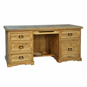 Santa Rita Rustic Executive Desk