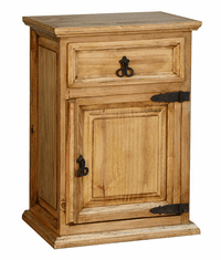 Santa Rita Rustic Tall Night Stand
