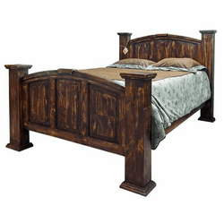 Santa Rosa Rustic Mansion Bed
