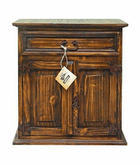 Santa Rosa Rustic Night Stand