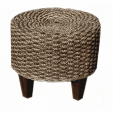 Seagrass Footstool
