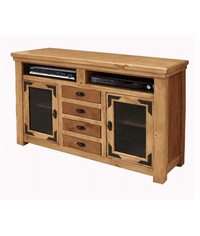 "Sierra Rustic Lodge 63"" TV Stand with Drawers"