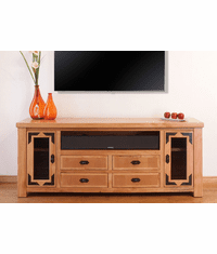 "Sierra Rustic Lodge 76"" TV Stand"