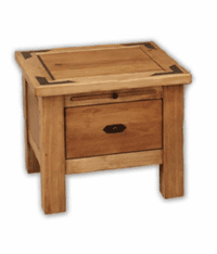 Sierra Rustic Lodge End Table