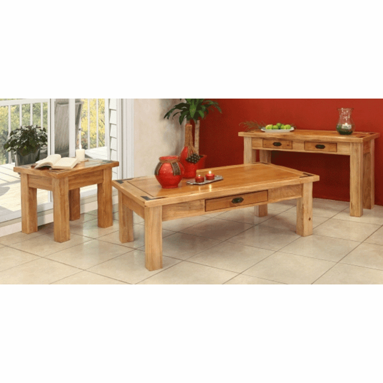 Rustic Living Room Table Set, Living Room Table Set
