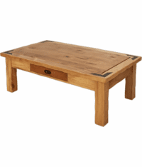 Sierra Rustic Lodge Rectangular Cocktail Coffee table