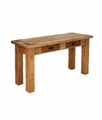 Sierra Rustic Lodge Sofa Table