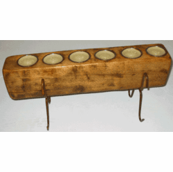 Six Hole Sugar Mold Candle Holder