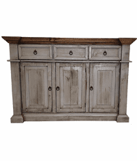 Sofia Rustic Gray Console Table