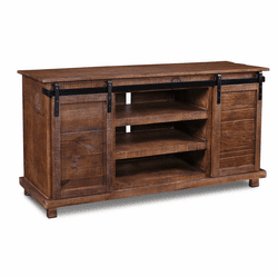 "Sonoma Barn Door 66"" TV Stand Brown"