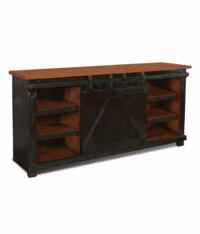 "Sonoma Barn Door 70"" TV Stand Black"