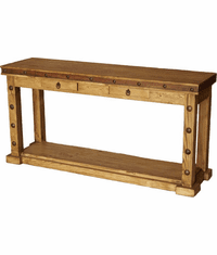 Sonoma Rustic Console Table