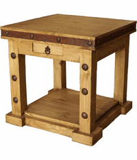 Sonoma Rustic End Table