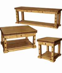 Sonoma Rustic Occasional Table Set