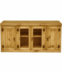 "Sonora 48"" Rustic Pine TV Stand"