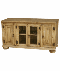 "Sonora 48"" Rustic Pine TV Stand W/ Legs"