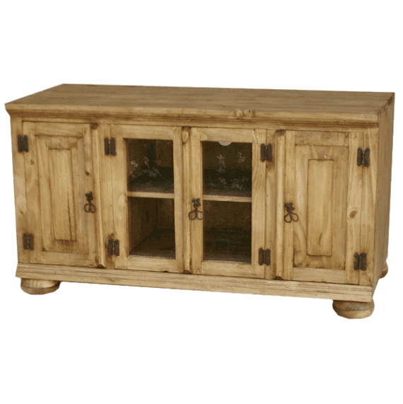"""Sonora 48"""" Rustic Pine TV Stand W/ Legs"""