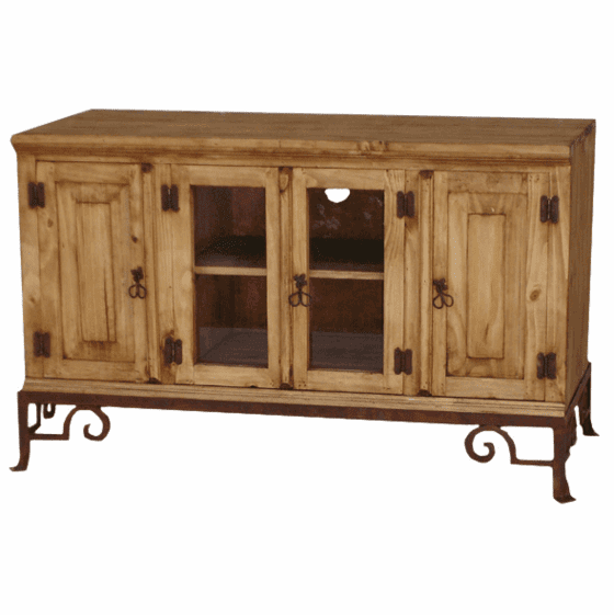 """Sonora 48"""" Rustic TV Stand W/ Base"""