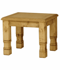 Sonora Rustic End Table