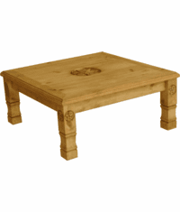 Sonora Star Square Coffee Table