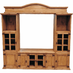 Sonora Wood Pine Entertainment Center