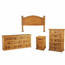 Southwestern Pine Bedroom Set