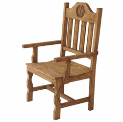 Star Rustic Arm Chair