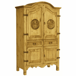 Star Rustic Armoire