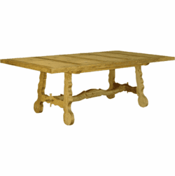 Tampico Rustic Pine Dining Table