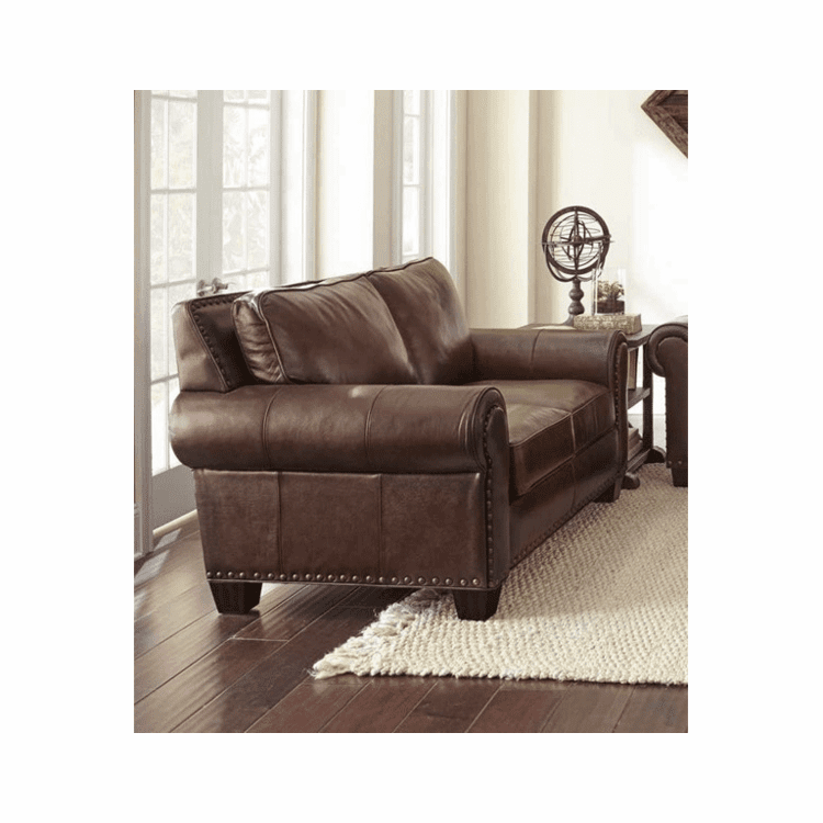 Taos Leather Love Seat