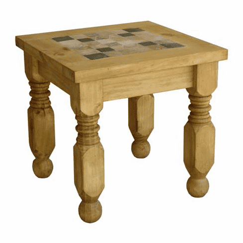 Taos Marble End Table