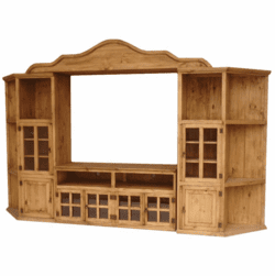 Taos Wood Entertainment Center