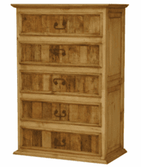 Tonola Rustic Chest  w/ Worm Wood