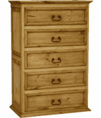 Tonola Rustic Pine Chest of Drawers