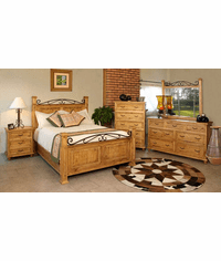 Valencia Rustic Bedroom Furniture Set