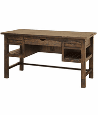 Vera Cruz Rustic Wood Writing Desk