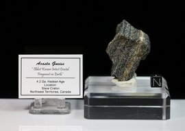 Acasta Gneiss Slave Lake NW Territories Canada - Sold