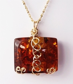 Amber and Amber Jewelry