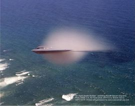 B-2 Stealth Bomber Aviation Poster