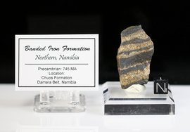 Banded Iron Chuos Formation Northern Namibia Africa NEW