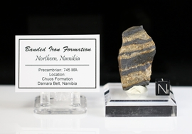Banded Iron Chuos Formation Northern Namibia Africa - Sold!