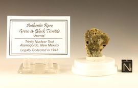 Green Black Trinitite for Sale