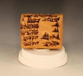 Mesopotamia Cuneiform Clay Writing Tablet Reproduction Iraq