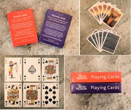 Egyptian Mummy Rosetta Stone Playing Cards