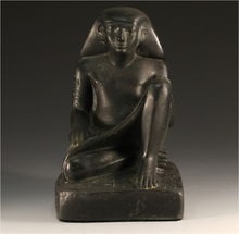 Egyptian Seated Scribe Statue Reproduction