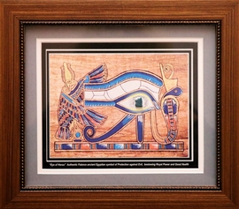 Authentic The Eye of Horus Egyptian Faience Wedjat Eye