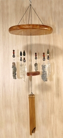 """Force of Nature"" Lightning Sand Wind Chime Large"