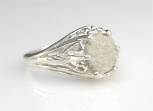 Authentic Fulgurite Lightning Sand Ring Sterling Silver - Now Available!