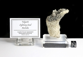 Authentic Fulgurite Lightning Sand Superb! -Sold