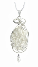 Lightning Sand Sterling Silver Jewelry Large Bushey with Pearl Accent
